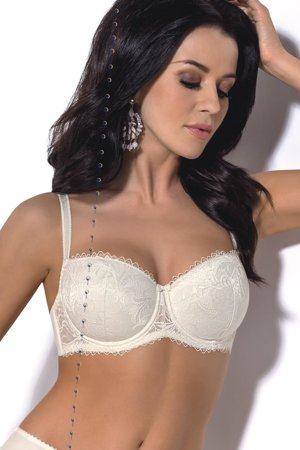 Gorsenia K359 Sara underwired padded bra lace