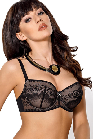 Gorsenia K382 Inga underwired padded bra lace