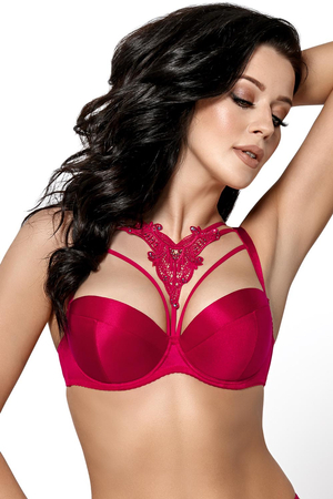 Gorsenia underwired cage push-up bra  K411 Mon Cheri