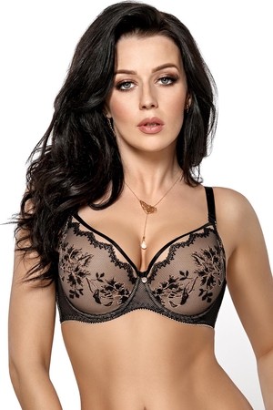 Gorsenia underwired lace push-up bra K430 Charme