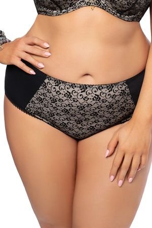 Gorsenia women's lace floral briefs K458 Valery