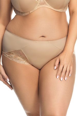 Gorsenia women's lace smooth briefs K426 Casablanca