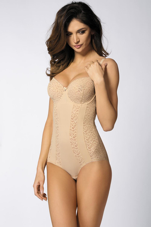 Gorteks Marilyn/Bo underwired lacy woman body non padded
