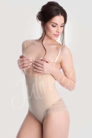 Julimex Shapewear 119 Mesh Body women's underbust shaping removable straps