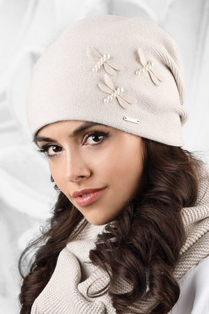 Kamea smooth warm women's hat Vasto