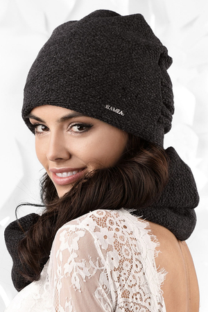 Kamea smooth woolen women's hat Bollate