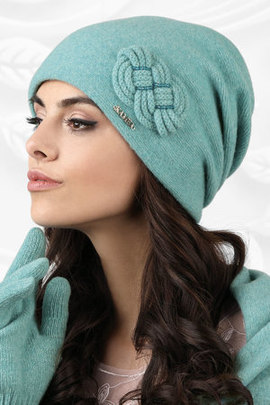 Kamea warm thick smooth women's hat Bergamo