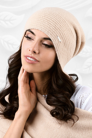 Kamea women's smooth winter hat Ravenna