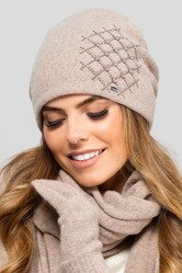 Kamea women's smooth woolen hat Asturia
