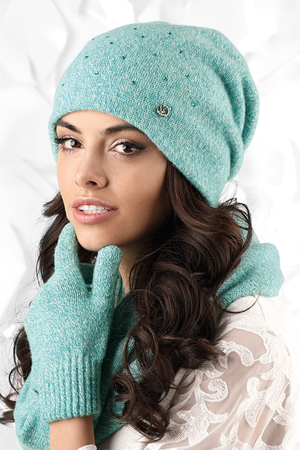 Kamea women's woolen smooth hat Novara