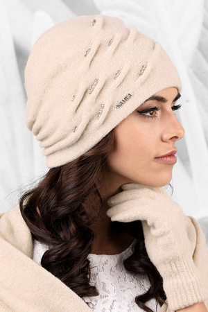 Kamea wool smooth women's hat Portofino
