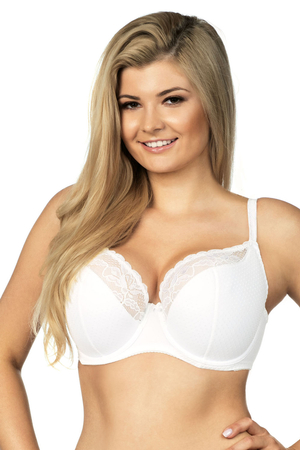 Lupoline underwired lace semi padded bra 112