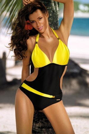 Marko Beatrix M-337 elegant halterneck monokini with open sides