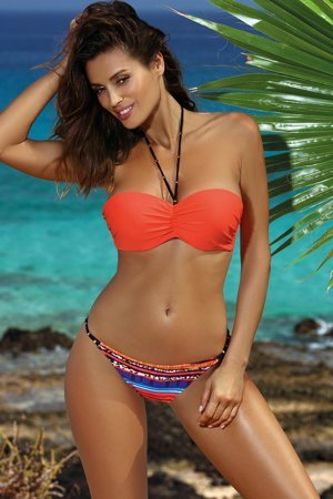 Marko padded patterned bikini set Angela M-483