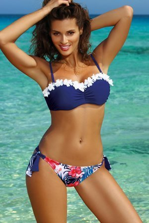 Marko underwired floral bikini set Claudia M-452