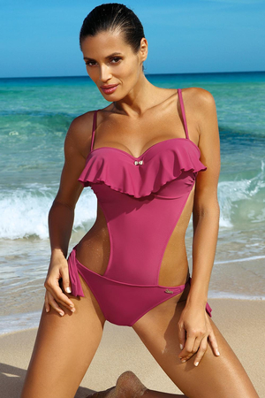 Marko underwired frilled one piece swimsuit Carmen M-468