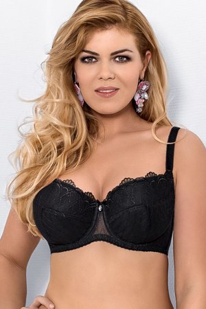Mat 077/22 Emma underwired padded bra embroidery