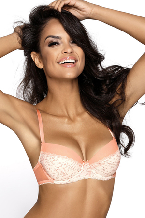 Mat underwired lace push-up bra 2824/11 Viva