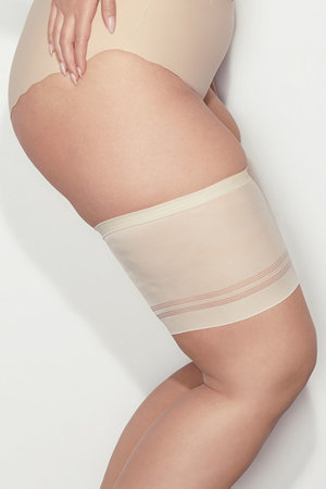 Mitex Bandaski thigh band anti chafing garter invisible smooth