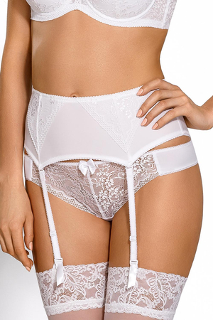 Nipplex Elise refined lacy garter belt