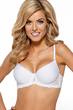 Nipplex Patricia underwired padded push-up bra with inserts strapless lace