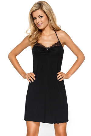 Nipplex women's lace strappy smooth nightdress Pandora