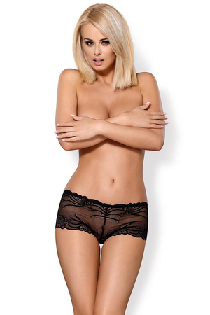 Obsessive women's lace boy shorts 828-SHO-1