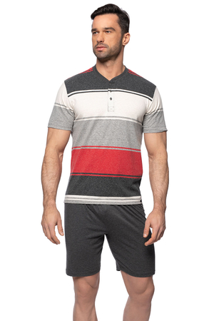 Rossli men's striped pyjama set SAM-PY-147