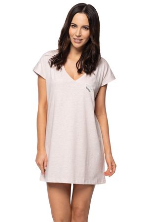 Rossli women's smooth oversize nightdress SAL-ND-2061