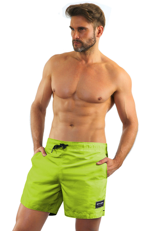 Sesto Senso classic smooth swimming trunks 1906