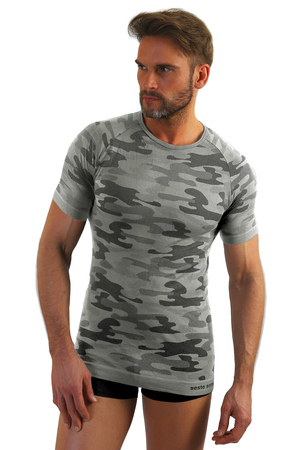 Sesto Senso short sleeved thermal camo top Militaria krr
