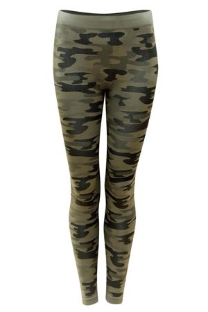 Sesto Senso women's camo leggings Legginsy Moro