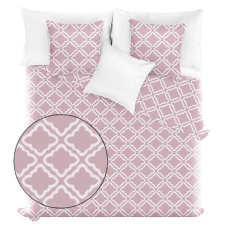 Spod Igły i Nitki Clover pillow cover pillowcase marocco patterned