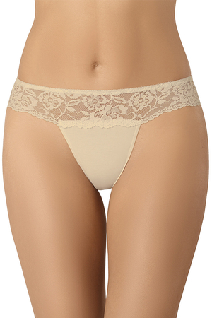 Teyli women's smooth lace thong 318