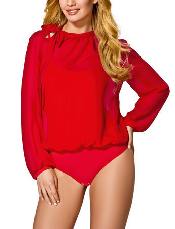 Vestiva BDV 062 womens bodysuit leotard body long sleeves sexy