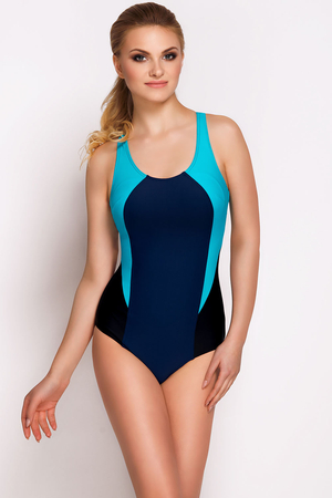 Vivisence 3403 women's sports one-piece swimsuit light padding