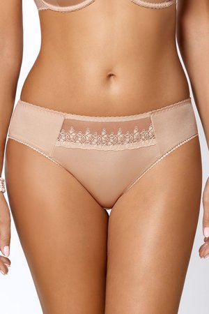 Vivisence Elise 1003 women's panties briefs smooth mesh embroidery