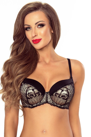 Vivisence underwired padded lace bra 1038