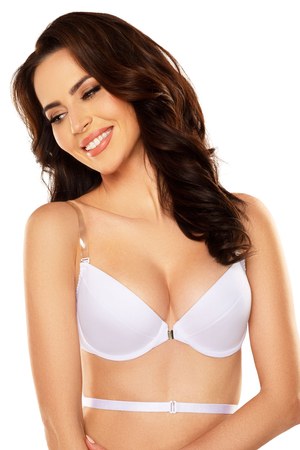Vivisence underwired smooth backless push-up bra 1040
