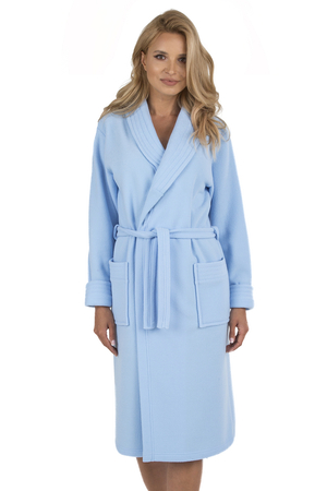 Vivisence women's smooth dressing gown robe 5015