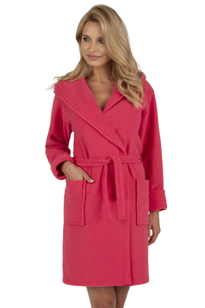 Vivisence women's smooth dressing gown robe 5016