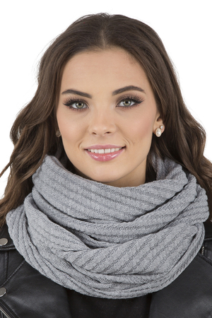 Vivisence women's warm winter snood 7017S