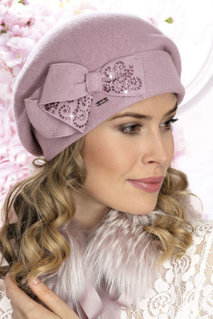 Willi women's plain woolen beret Pen