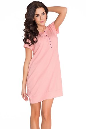 dn-nightwear TM.5009 subtle classic maternity/nursing nightdress