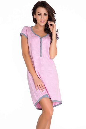 dn-nightwear TM.5038 comfortable maternity/nursing nightdress