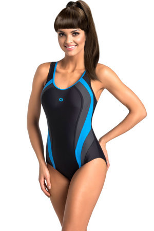 gWINNER Power III women's one pice swimsuit sports style scoop neck