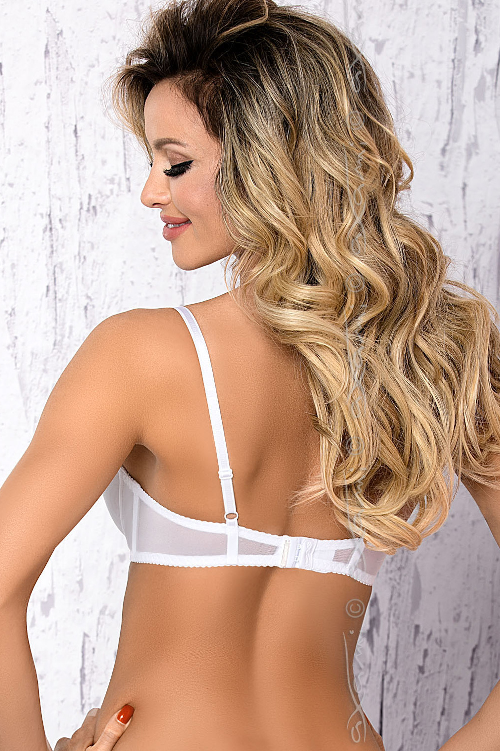 Axami V-7171 Luna underwired padded shelf bra cage matching bottoms available