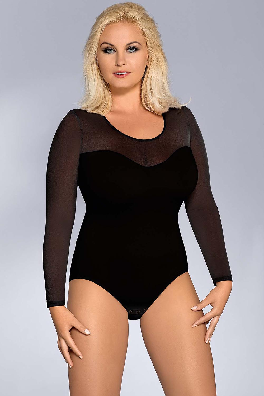 Vestiva BD 026 womens bodysuit leotard body long sleeves ...