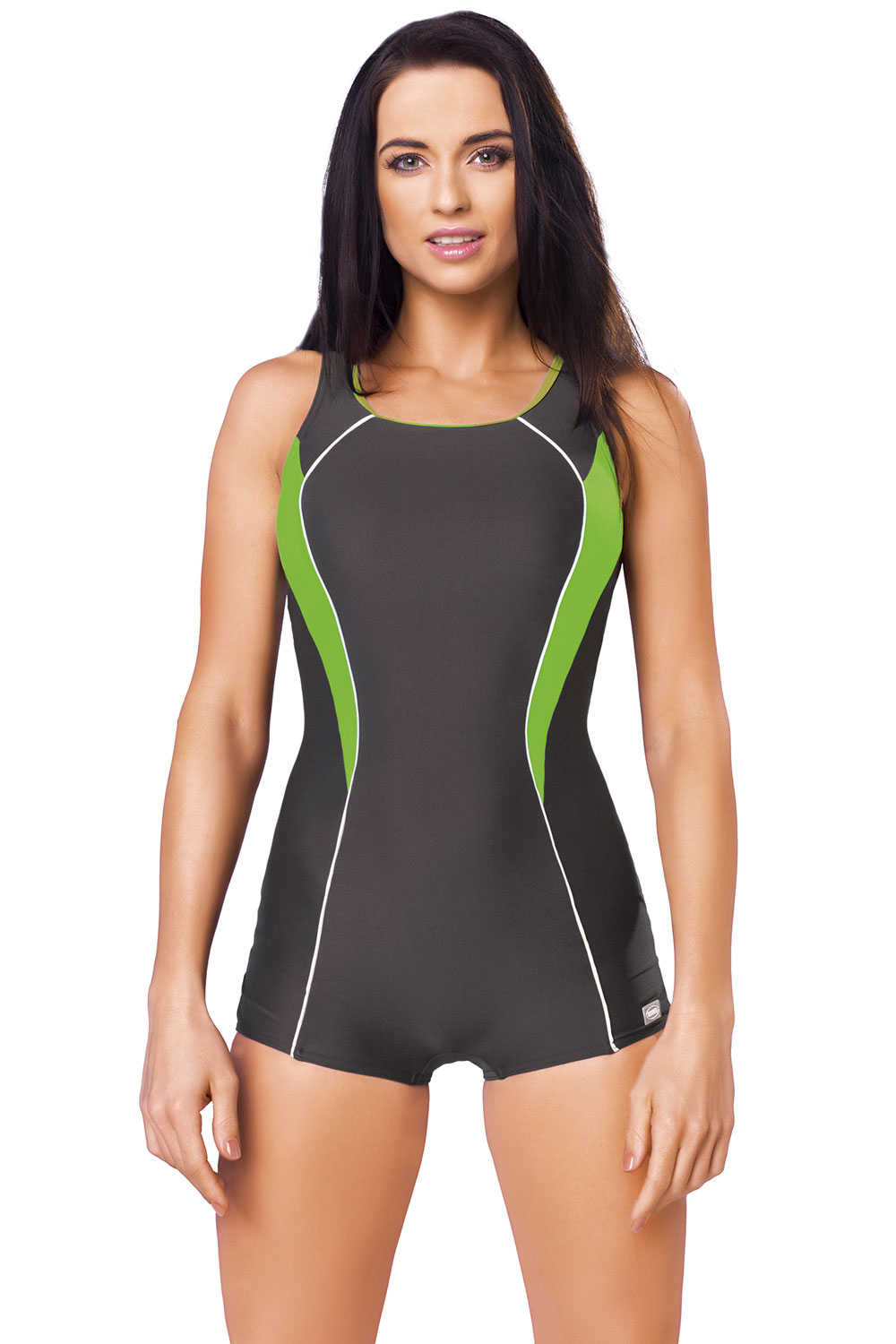 gwinner isabel i womens one piece swimsuit shorts