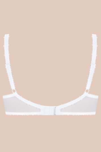 Ava 1030 underwired half padded full cup bra not separable regulated straps